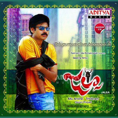 Jalsa(2008) Telugu Movie Songs Free Download
