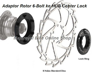 Adaptor Rotor 6Bolt ke Hub CL