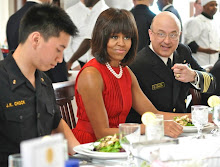 First Lady Lunches At US Naval Academy