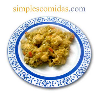 risotto con pollo