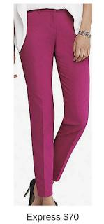 Sydney Fashion Hunter - She Wears The Pants - Express Pink Women's Work Pants