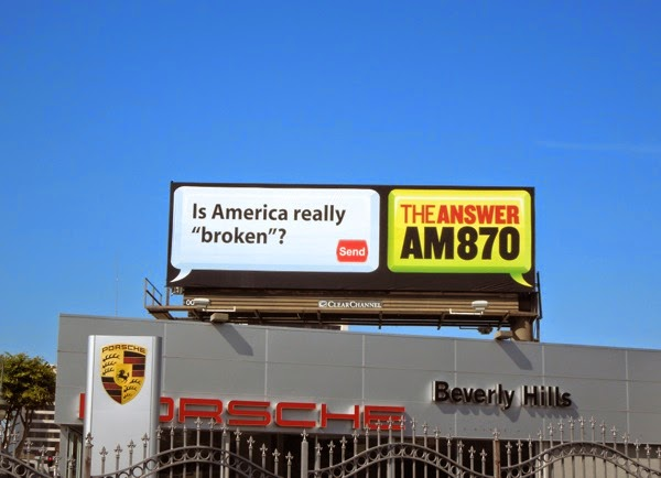 Is America really broken The Answer billboard