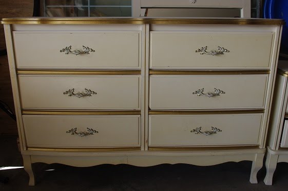 Thousand Square Feet: French Provincial Furniture Makeovers