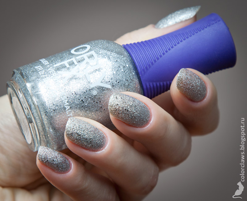 Orly Silver Pixel