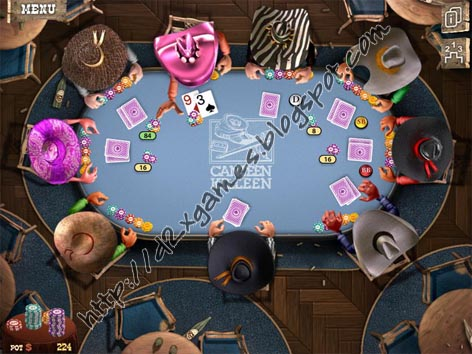 Free Download Games - Governor Of Poker 2