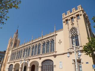Palacio de la Exposicion in Valencia, Spain