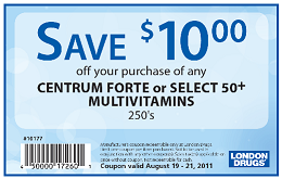 London Drugs Coupons