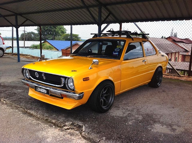 Jdm Cars For Sale >> BABY DROP IT DOWN (MALAYSIA): OLD SCHOOL YELLOW KE30