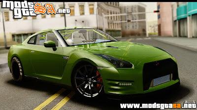 SA - Nissan GT-R Dragster