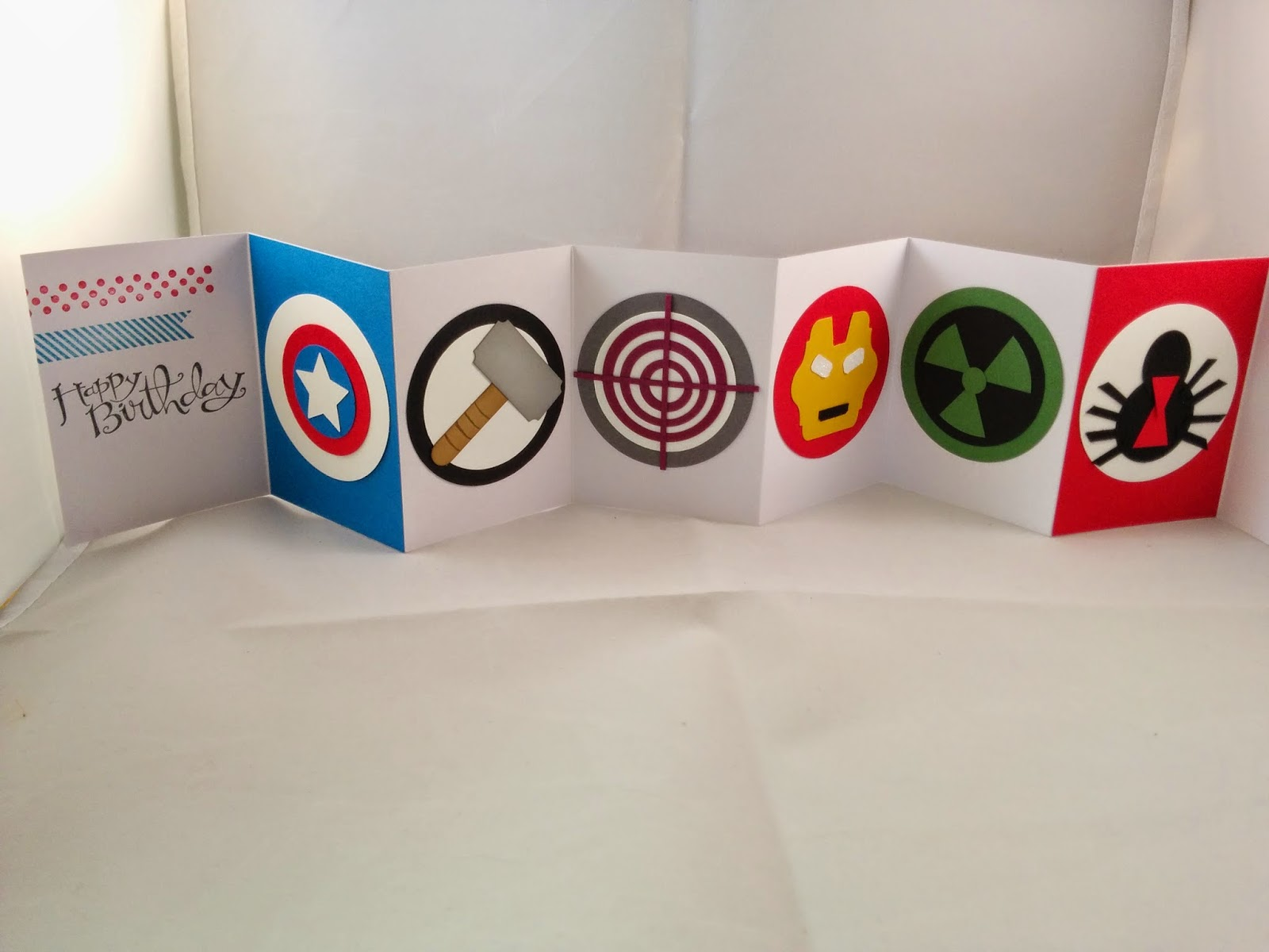 jenny g paper crafts  punch art that packs a superhero punch
