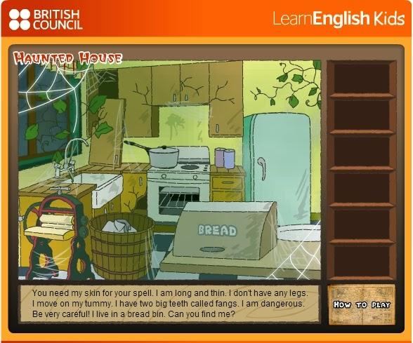 http://learnenglishkids.britishcouncil.org/en/fun-games/haunted-house-level-2