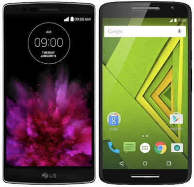 LG G Flex 2 vs Motorola Moto X Play