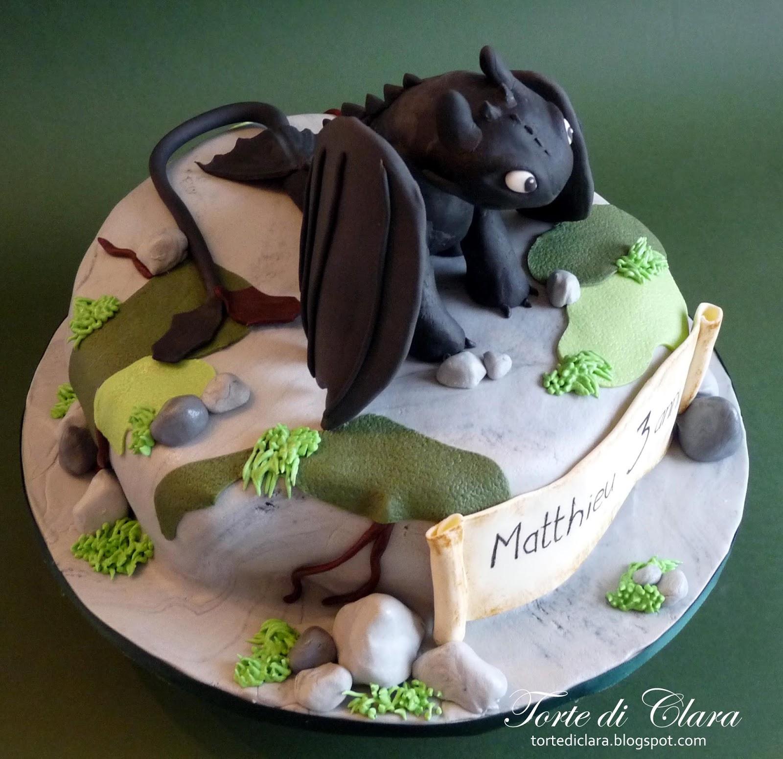 Cake Design Dragon Trainer : Torte di Clara: Dragon Trainer Cake
