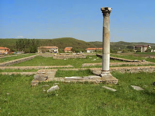 Ulpia Sarmisegetusa- Great Temple, the Temple of the god Silvanus