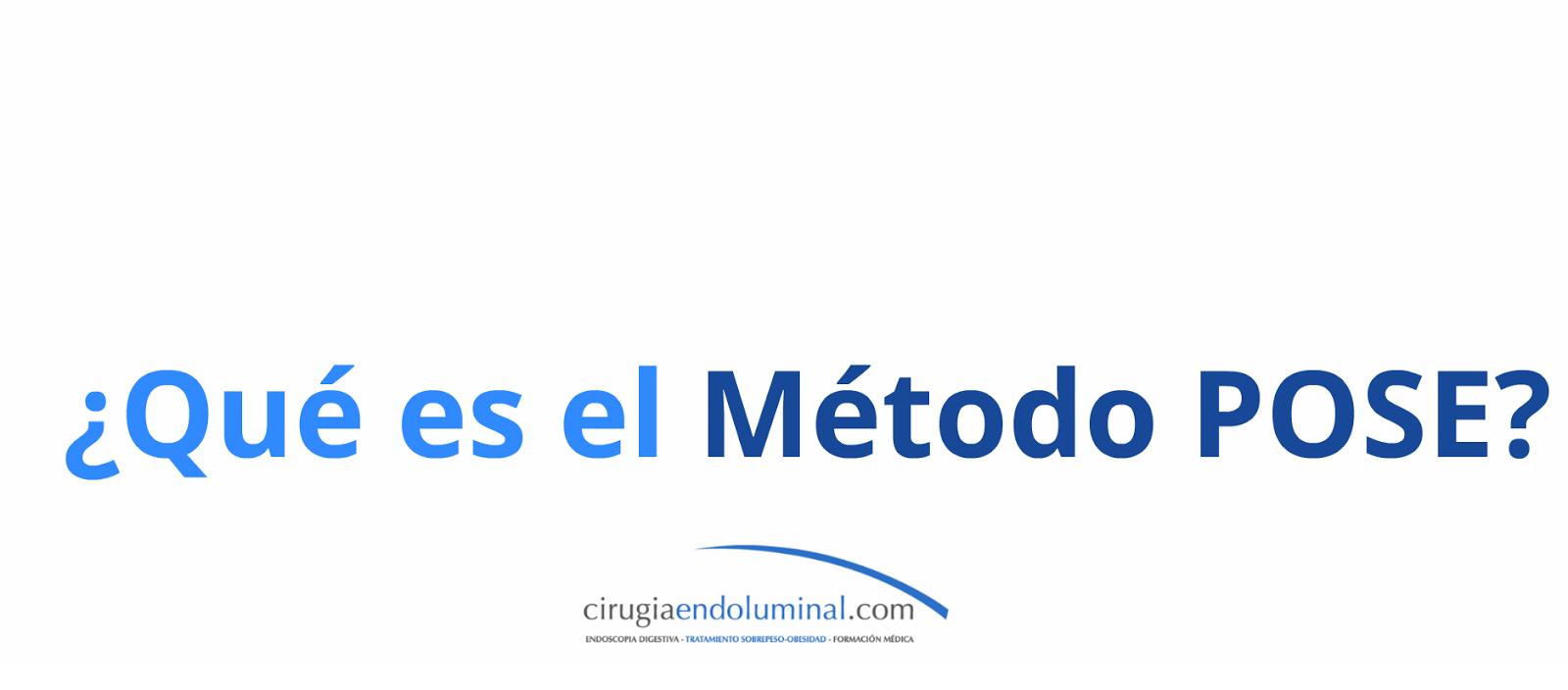 Presentación ¿Qué es el Método POSE?