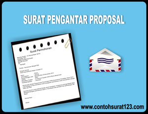 Gambar Contoh Surat Pengantar Proposal