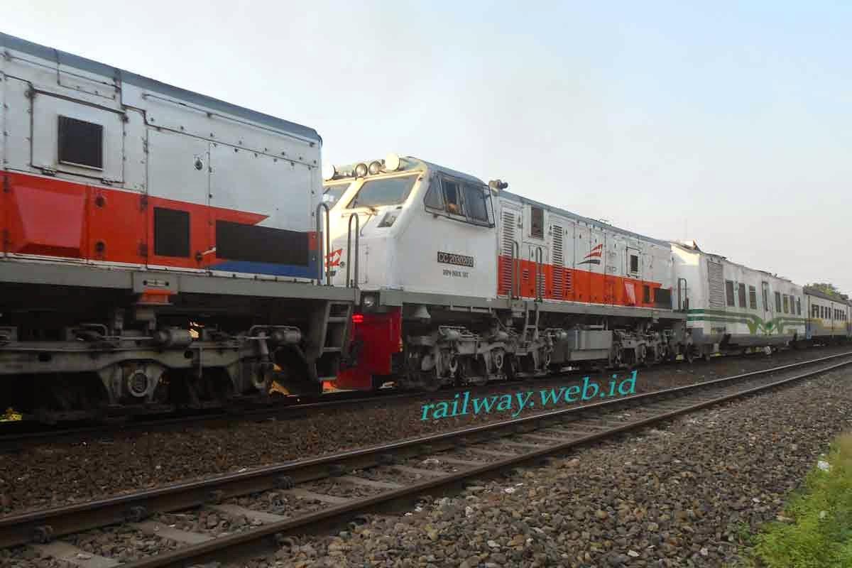 gambar lokomotif CC20340 terbaru