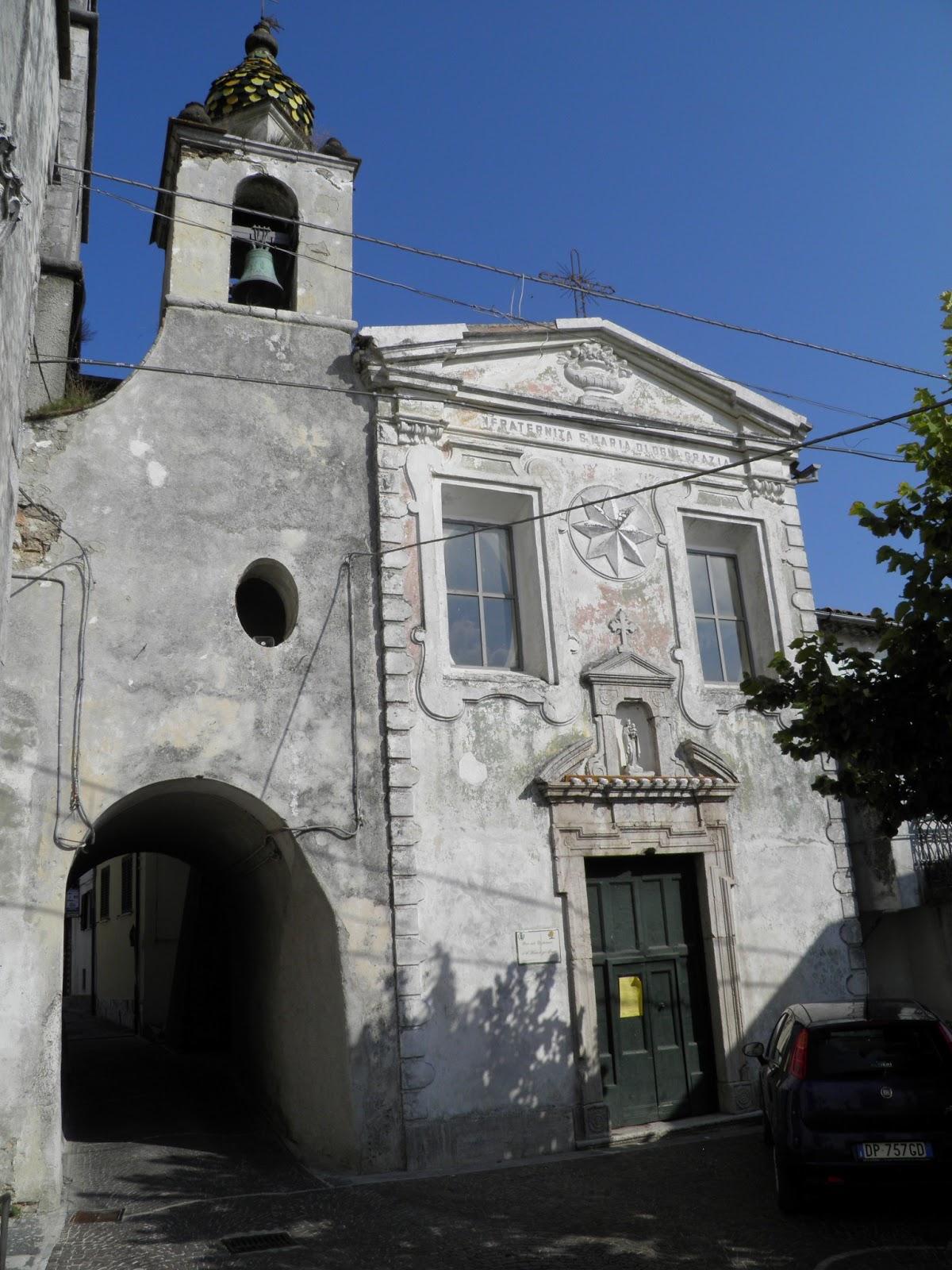 Tabernacoli italiani castello del matese madonna col for Nicchia sinonimo