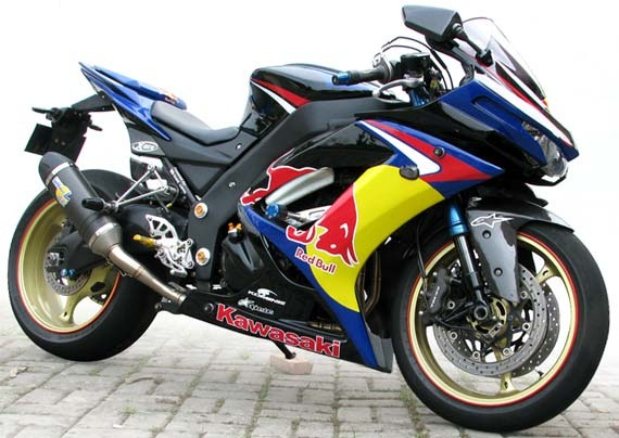 Gambar Motor Modifikasi ninja 250 title=
