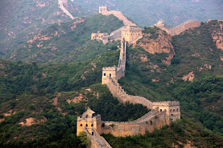 Great wall of China seven wonders of world