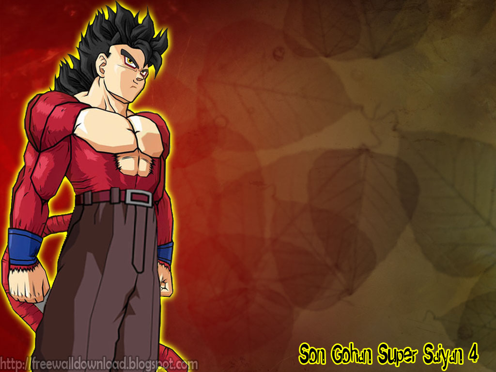 Free wallpaper download son gohan super saiyan wallpapers - Son gohan super saiyan 4 ...