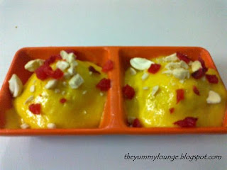 Signature Mango Dessert Recipe Mango Cream Balls