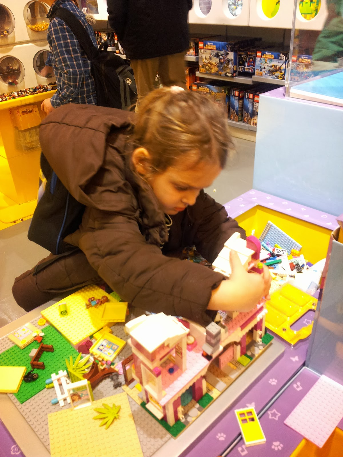 Cardiff Half Term St Davids Centre Wales Lego Stores Pick n Mix Lego Friends