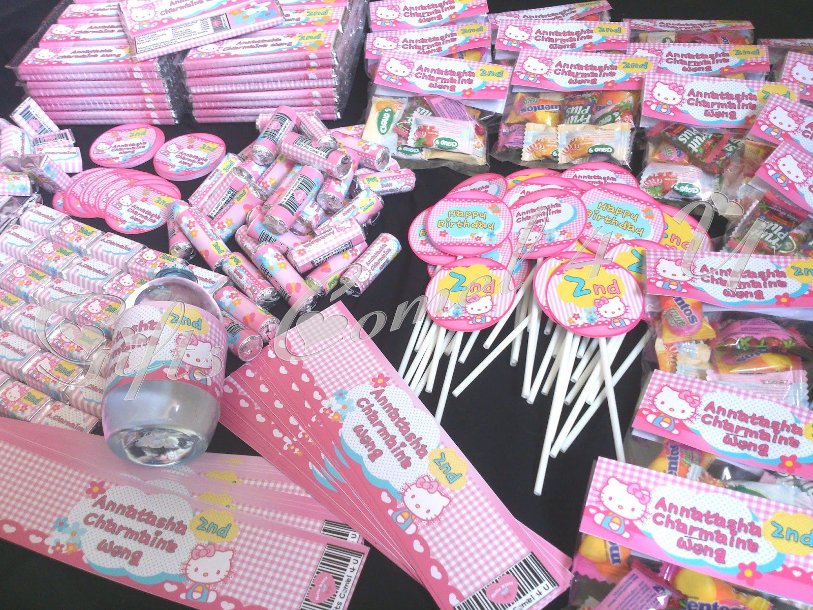 Gifts Comel 4 U Ordered by Wanie Hello Kittys Theme Party Pack