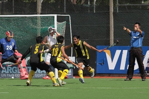 Keputusan Malaysia vs India Hoki Piala Sultan Azlan Shah 16 Mac 2013