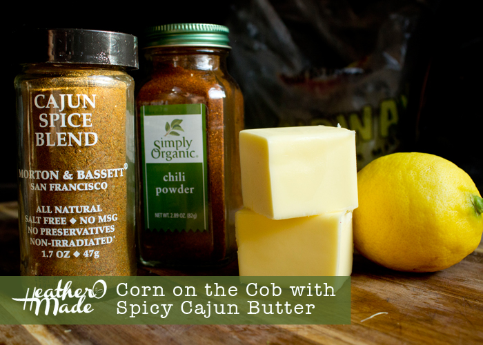 Corn on the Cob with Spicy Cajun Butter recipe