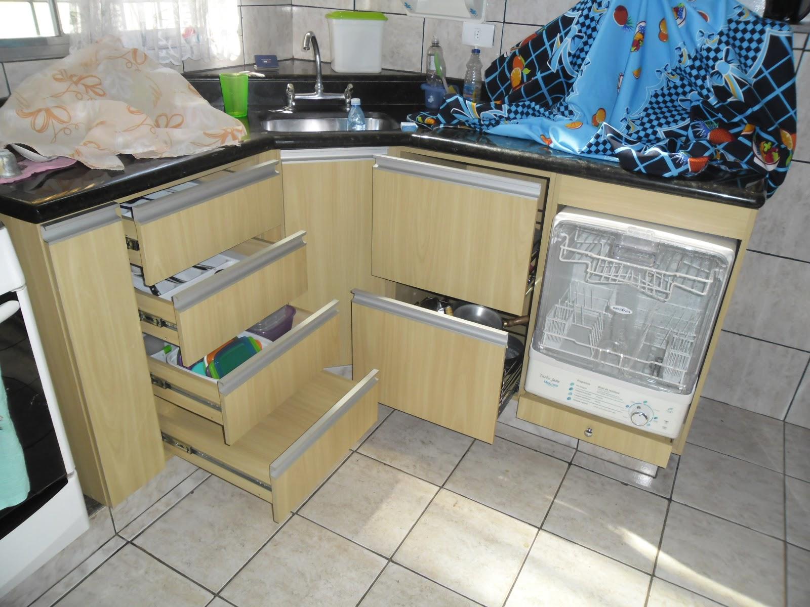Marcenaria Caseira: Cozinha Planejada Francisco & Marlene #326E99 1600 1200