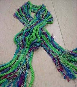 No Knit Scarf Patterns : Murphys Law: No Knit Yarn Scarf