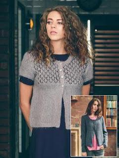 Andrea trøje - design fra Rowan