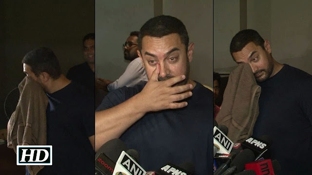 Aamir Khan Crying after watching Bajrangi Bhaijaan | Watch Video