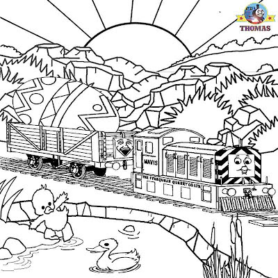 Thomas the tank engine worksheets free Easter printable coloring pages for kids crafts egg and ducks