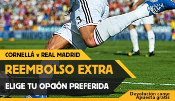 betfair Cornella vs Real Madrid