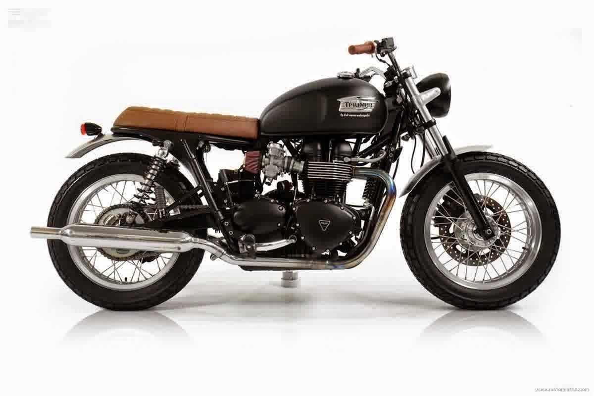 Motor Triumph dari Eropa