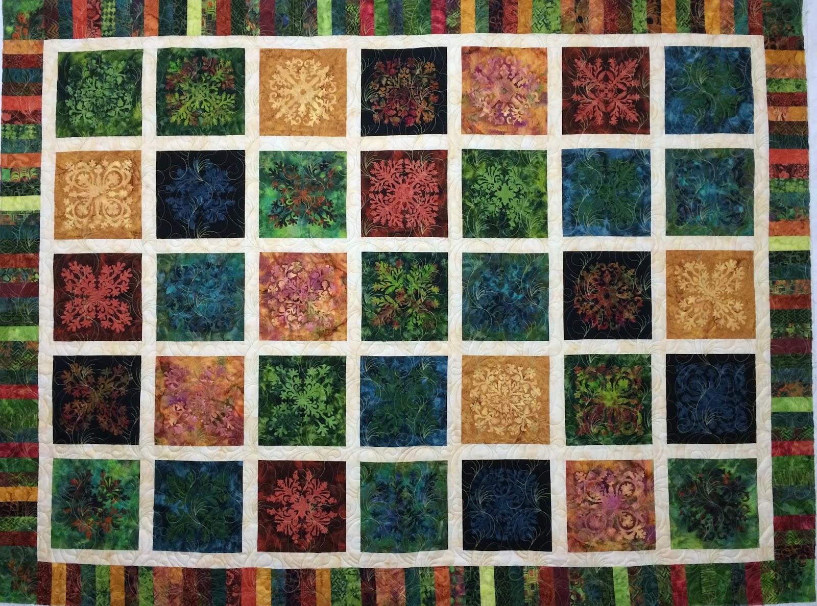 Kathleen Kurdziel Hoffman Volcano Tiles Quilt