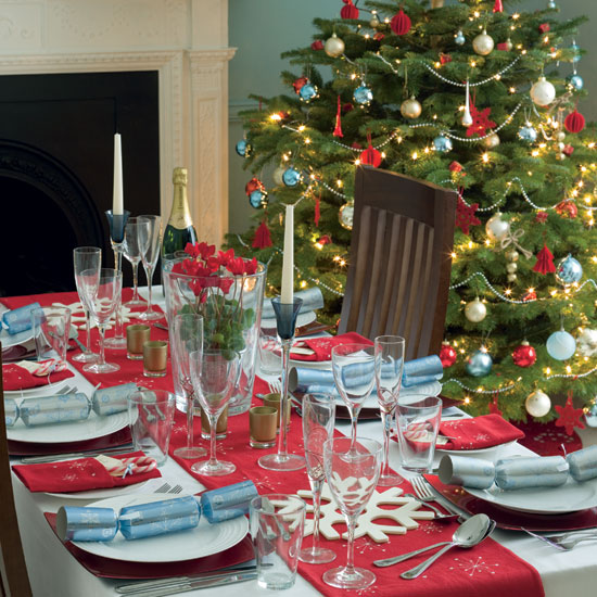 Fotos de mesas de navidad decoradas ideas para decorar - Mesa de navidad decorada ...