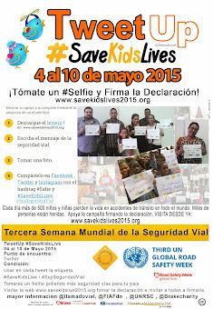 V TweetUp #SaveKidsLive