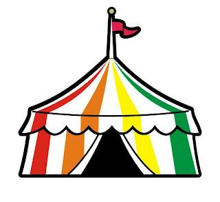 dibujos de carpas de circo para imprimir