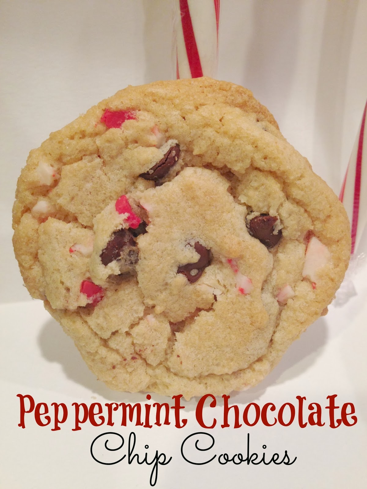 simply made with love: Peppermint Chocolate Chip Cookies
