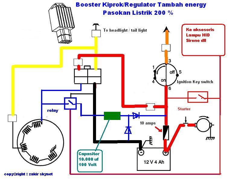 Solusi battery cara mudah membuat booster kiprok pengisian aki circuit pasang booster pengisian aki ccuart Images
