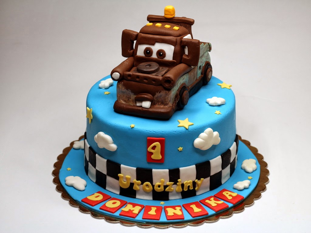 London Patisserie CARS  Children Birthday Cake In London - Birthday cake cars 2