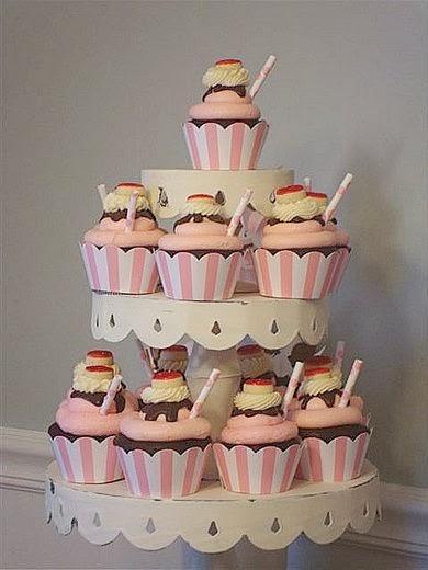 Cupcakes para Fiestas de Cumpleaños - Birthday Cupcakes