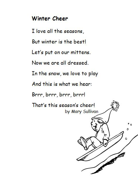 Rhyming Poems Examples