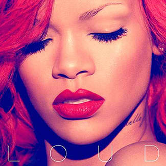 rihanna red hair, loud