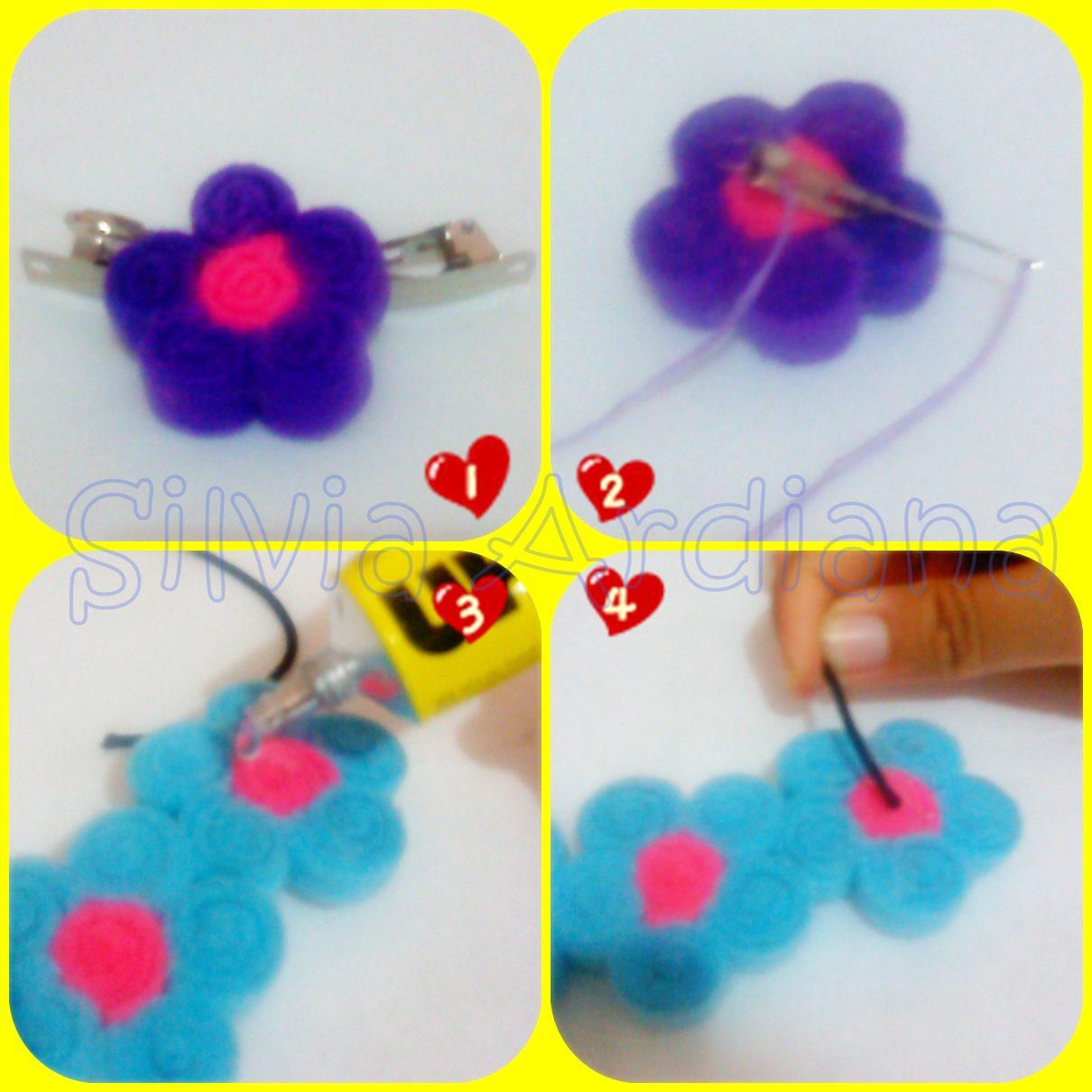 ... Flower Crown Tali Dari Kain Cara Membuat Flower Crown Tali Dari Kain