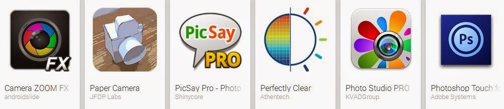 Aplikasi Edit Foto Android Terbaru Mei 2014