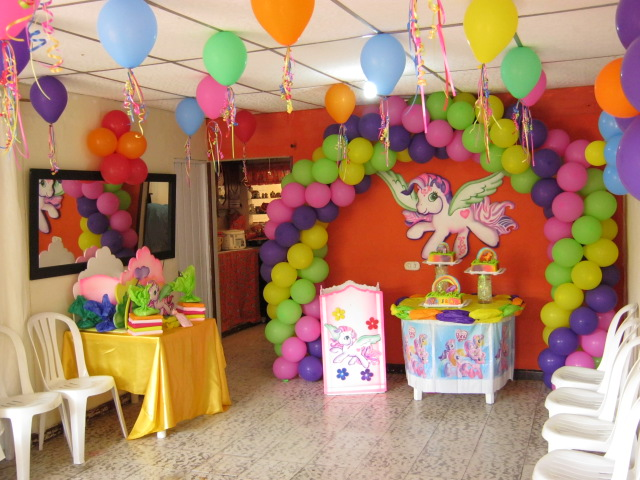 DECORACIONES INFANTILES: Decoración de little Pony